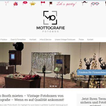 Mottografie-Fotobox.de ein Websiteprojekt der Medienagentur Lentz&Otto Webdesign